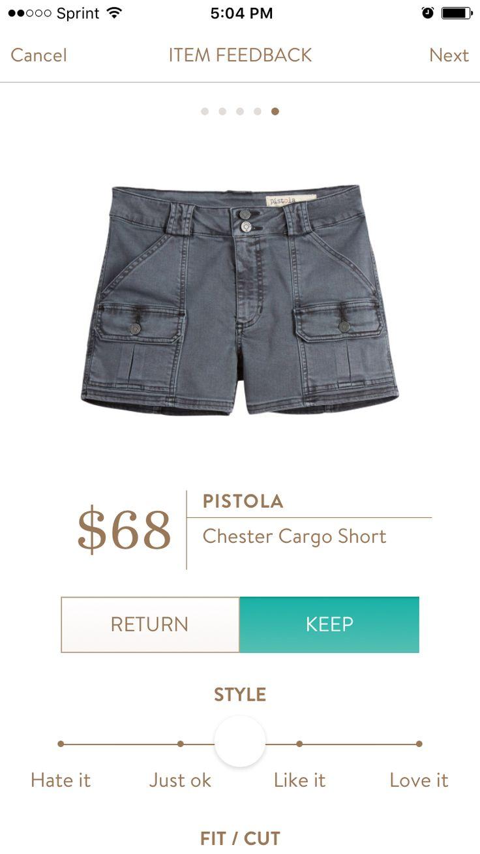 Pistola - Chester Cargo Short, Stitch Fix July 2016