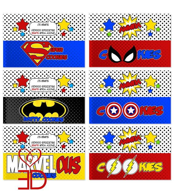 Superhero Party Printables Free