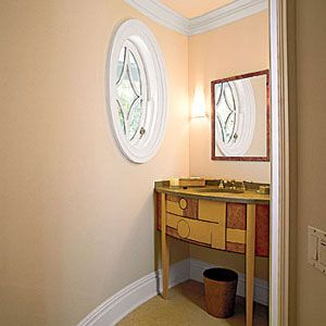 Photo: William P. Steele | thisoldhouse.com | from The Complete Half Bath  -  Good info