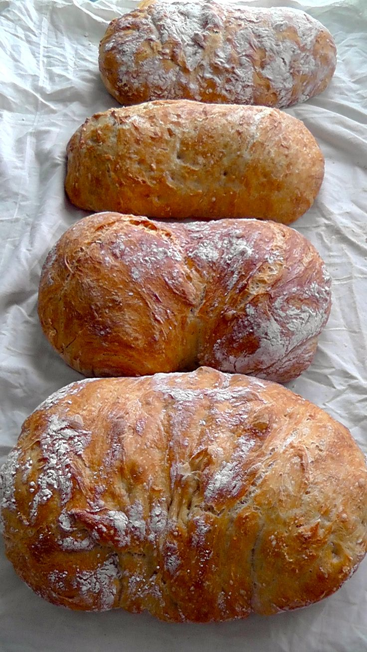 Homemade Artisan Bread- The Easiest recipe Six different ...