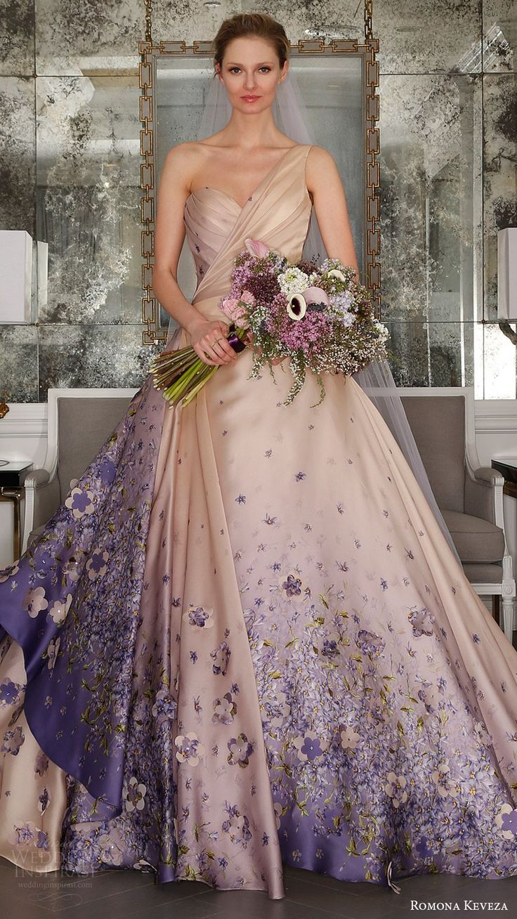 Wedding Wedding Dress Colors 17 best ideas about colored wedding dresses on pinterest color romona keveza spring 2017 to bridal collection