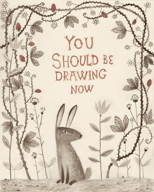 Chuck Groenink w/ advice http://pikaland.com/2012/07/02/you-should-be-drawing-right-now