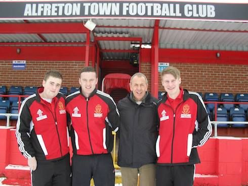 February 2012: Alfreton Town Football Club is launching the second phase of its Community Academy initiative – giving local young people the chance to gain sports leadership qualifications through a pioneering apprenticeship programme. The Club, which was promoted last season to the Blue Square Bet Premier Division, is working with Derby College to recruit the apprentices and support them through their qualifications.