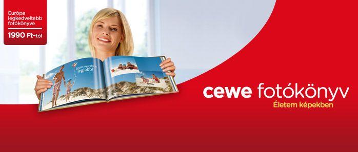 Cewe Fotókönyv készítés otthon online