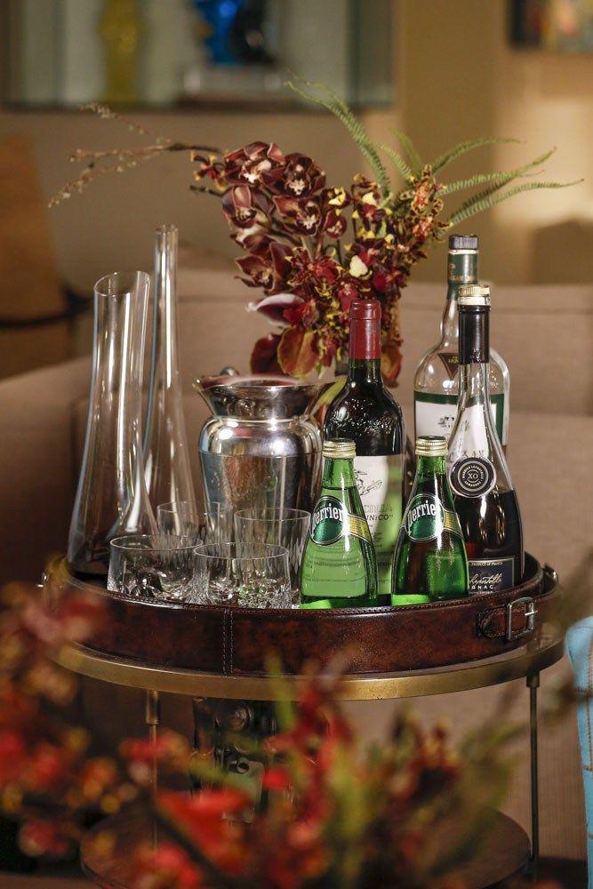 Cantinho de bebidas para uma noite de inverno em casa!