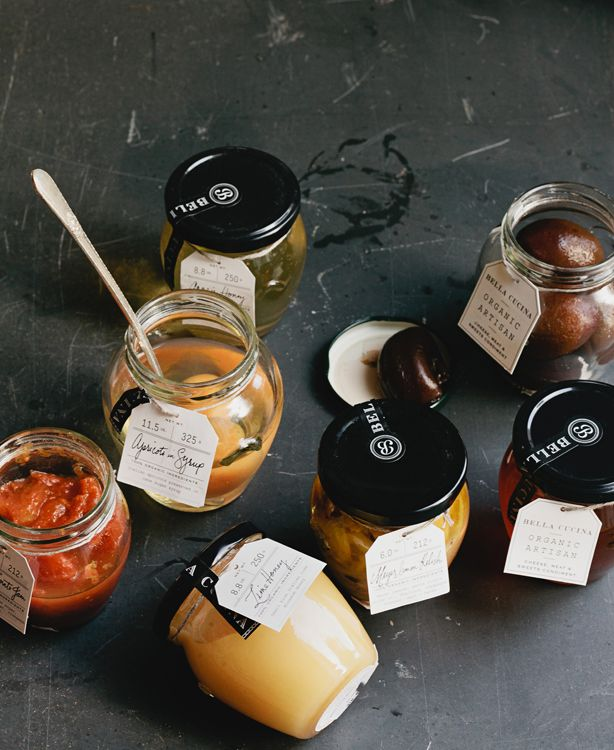 fruit in syrup.: Artisan Products, Bella Cucina Love, Color, Food, Packaging Design, Bella Cucina S, Honey Jars, Artisan Jars