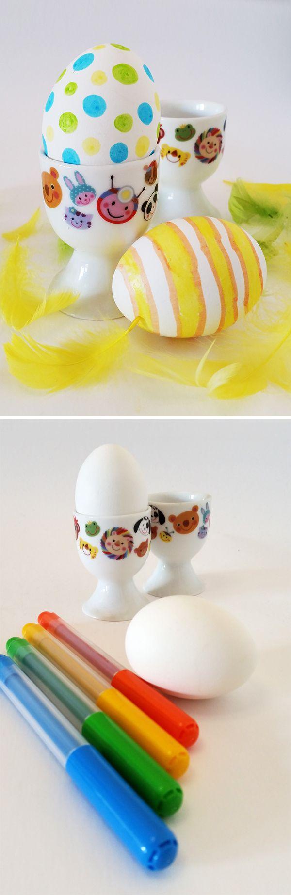 Koristellut munat. lasten   askartelu   pääsiäinen   käsityöt   koti   DIY ideas   kid crafts   Easter   home   Pikku Kakkonen