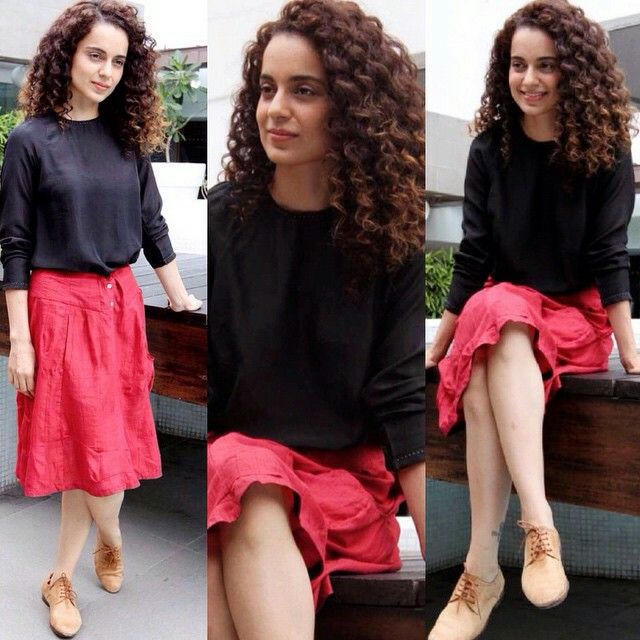 Kangana Ranaut #fashion #style