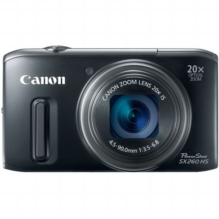 Canon PowerShot SX260 HS Digital Camera - Black $313.95 #coupay #photography