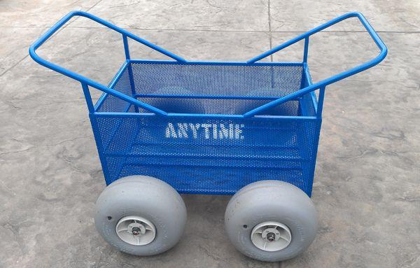 Beach Cart for effortless carrying of equipment across the beach
