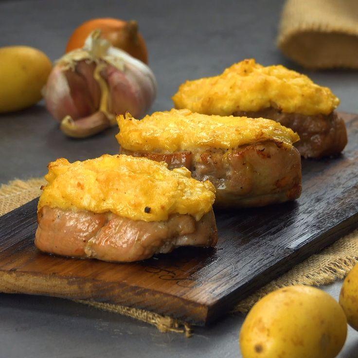Rauchiges Schweinefilet mit Kartoffel-Kruste – Leckerschmecker