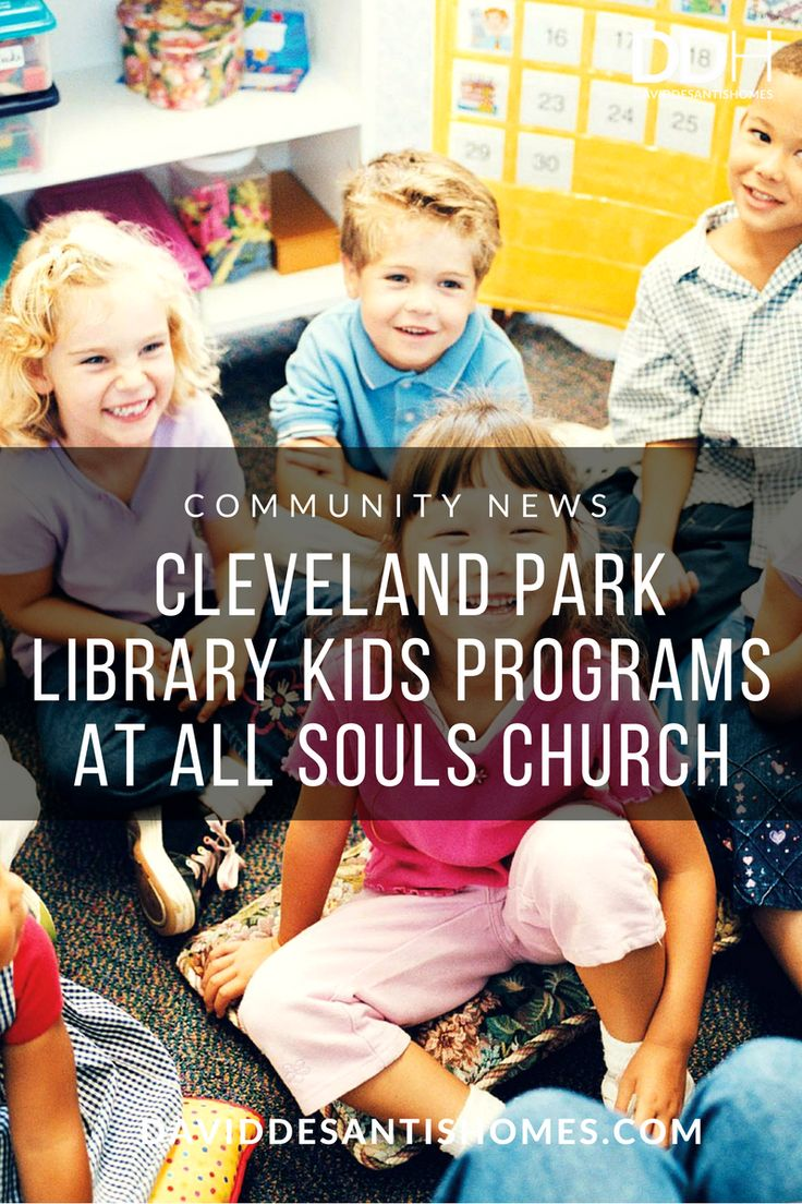 Cleveland Park library kids program