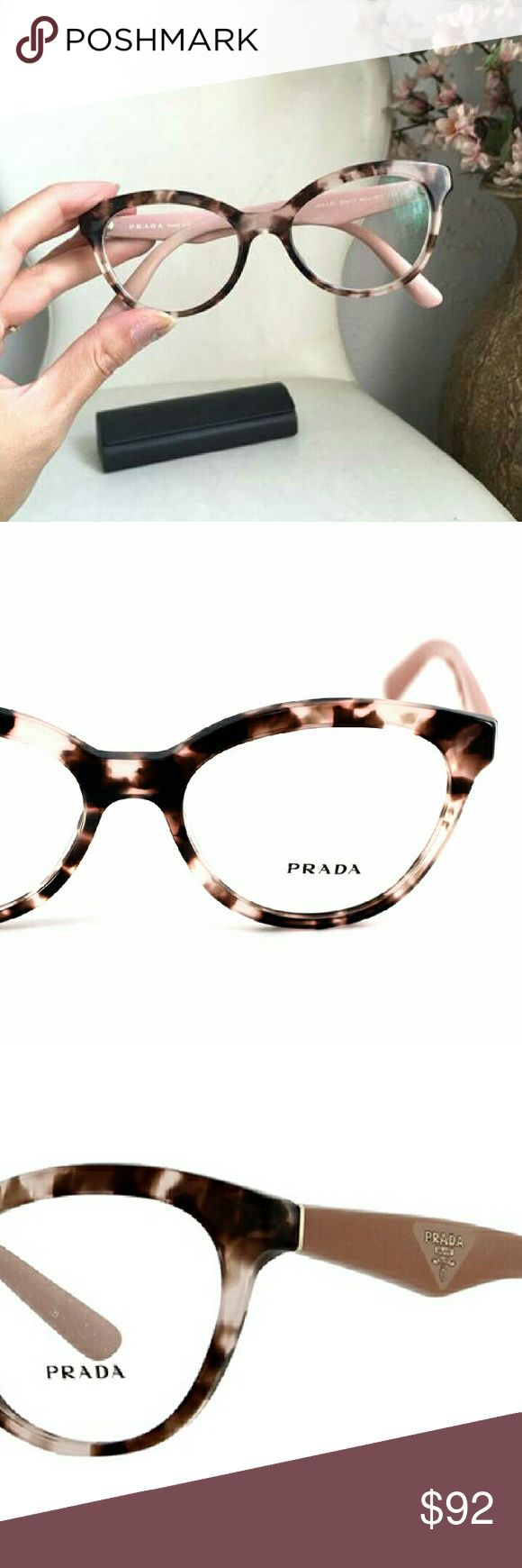 Prada 11rv Ophthalmic Glasses Frames Prada 11rv glasses frames size 52 eye; I have an extensive glasses collection and find I wear these the least so time to make room for new loves! Rx ready at a fraction of the price. *Make me an offer!* Prada Accessories Glasses