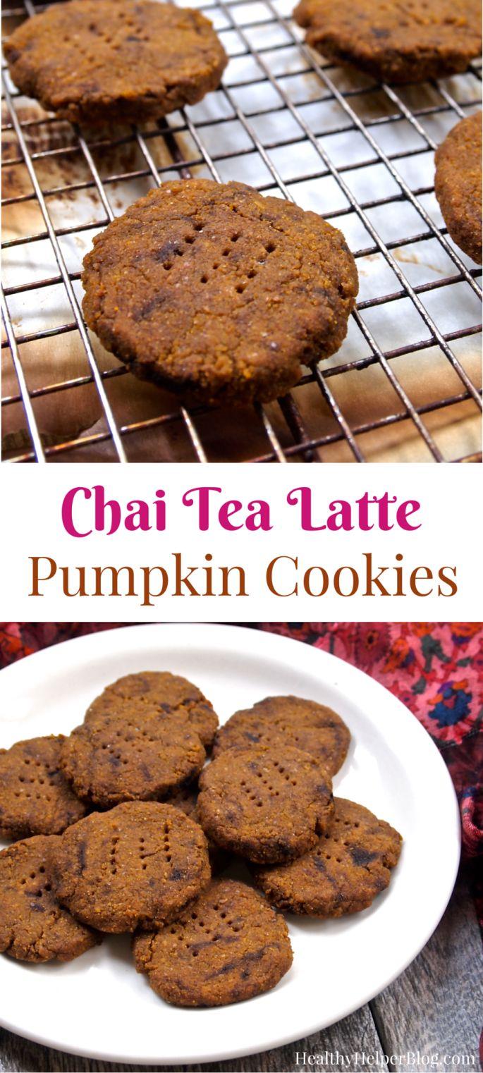 chai latte cookies recipe dishmaps. Black Bedroom Furniture Sets. Home Design Ideas