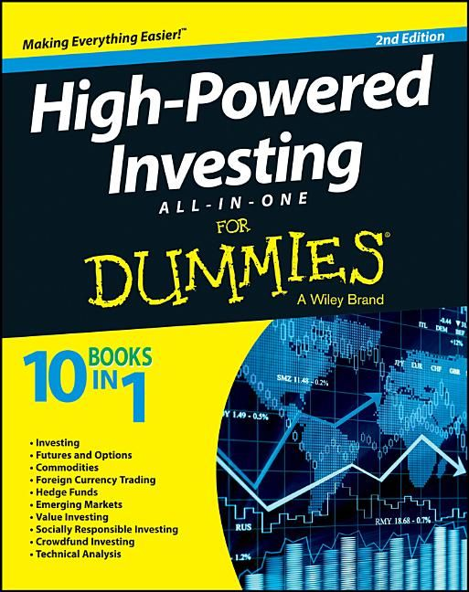 Free 2-day shipping on qualified orders over $35. Buy For Dummies:  High-Powered Investing All-In-One for Dummies, 2nd… in 2021 | Investing,  Higher power, Technical analysis