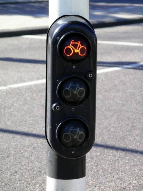 Amsterdam Bike Traffic Light
