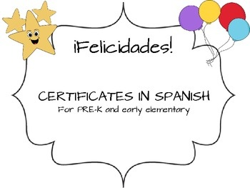 37 best certificatesawards images on pinterest classroom ideas end of year and award certificates in spanish 3 yadclub Images