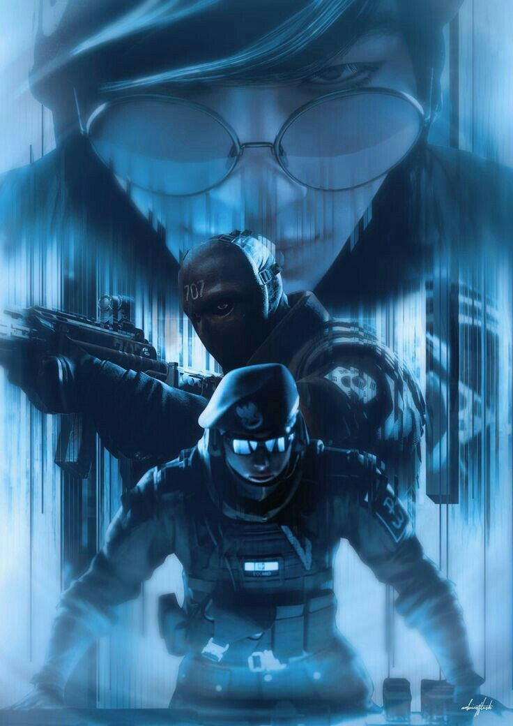 R6s Pictures With Images Rainbow Art Rainbow Six Siege Art