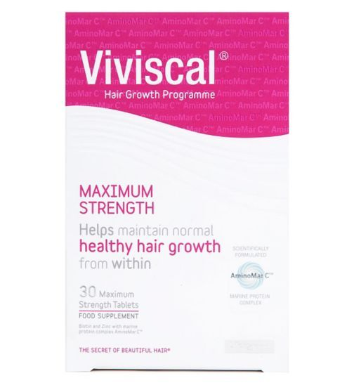 Viviscal Max Strength supplement 30 tablets