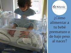 ¿Cómo alimentar a un bebé prematuro ?