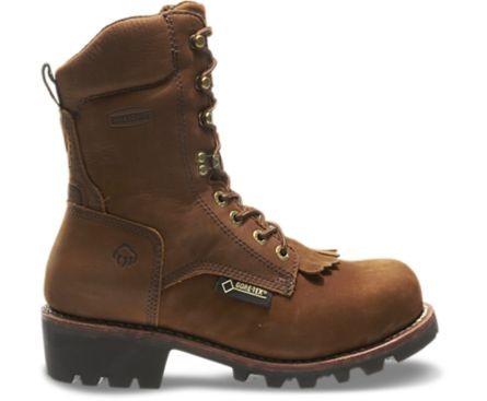 "Wolverine Chesapeake Waterproof Steel-Toe EH 8"" Logger Work Boot"