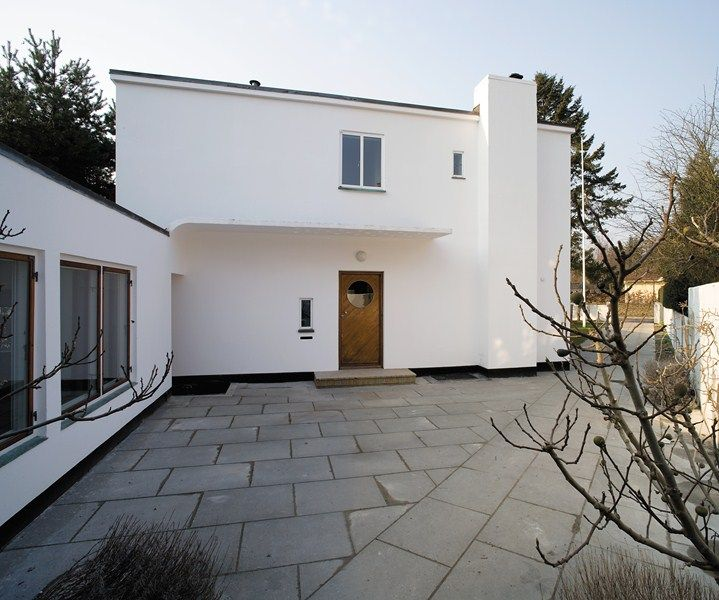 The home of Arne Jacobsen in Charlottenlund