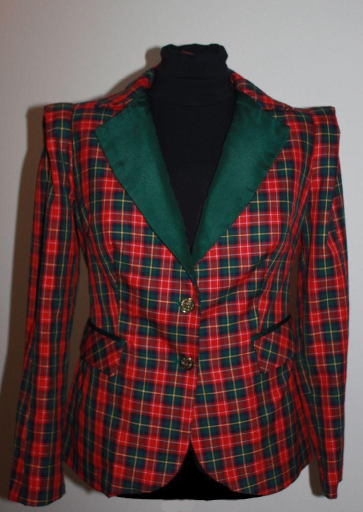 chaqueta escocesa