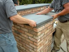 How to Build a Double-Grill Island : How-To : DIY Network