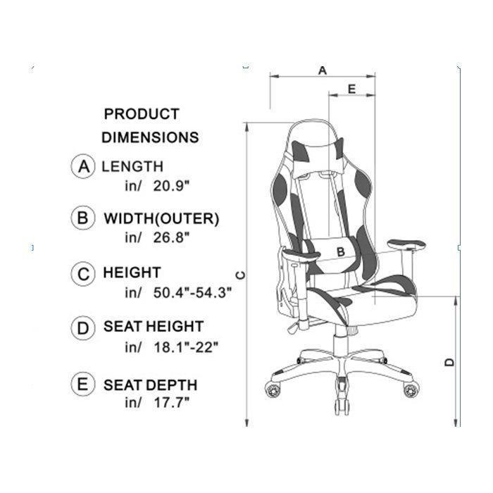 High Back Ergonomic Gaming Chair Gaming Chair Ergonomics Gamer Chair
