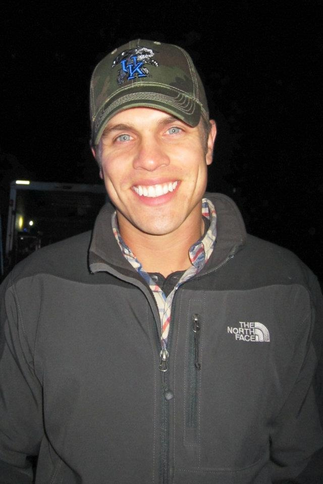 His eyes So Blue and that Smile So Bright! Damn son! The fact this man has hugged me 3 times makes me so happy & lucky!
