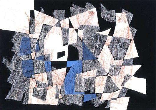 "Maria Jarema, ""Penetracje"" (źródło: materiały prasowe organizatora)"