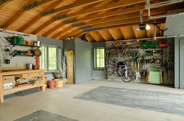 Garage Interior   Traditional   Garage And Shed   Toronto   Doug Abbott