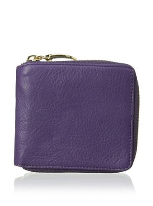 54% OFF Tusk Women's Zip French Wallet, Purple