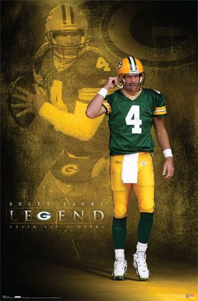 Green Bay Packers Brett Favre Poster Picture $20.00