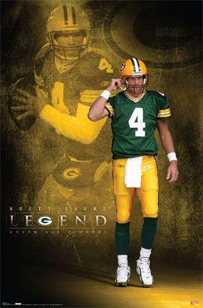 Green Bay Packers Brett Favre Poster Picture $20.00