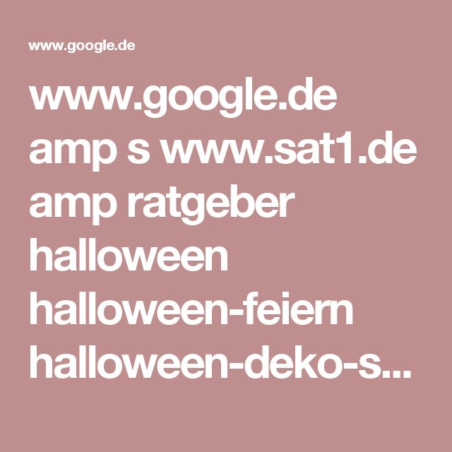 www.google.de amp s www.sat1.de amp ratgeber halloween halloween-feiern halloween-deko-selber-machen-anleitung-und-ideen-clip