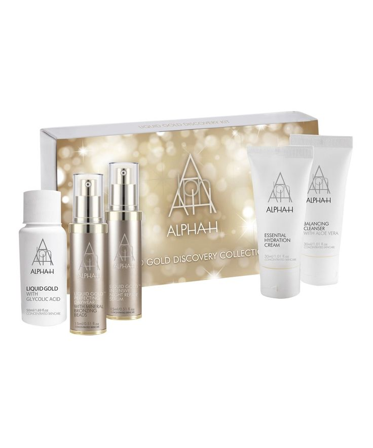 #skin care #CultBeauty #liquidgoldalphah Liquid Gold Discovery Collection  by Alpha-H #cultbeautywishlist