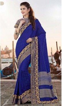 Deep Blue Color Georgette Party Wear Saris Blouse | FH529980074 #traditional #ethnic #ootd #fashion #makeup #mua #hair #lehenga #saree #sari #jewellery #jewelry #asian #asia #wedding #weddingphotography #asianwedding #asianbride #bridal #bride #weddingbells, #love #fashion #india #wedding #floral #sari #desi #blouse #bollywood #weddings #couture #style #dress #editorial #designer #punjabisuit #makeup #sisters #satin #indianbride #beautiful #bride @heenastyle