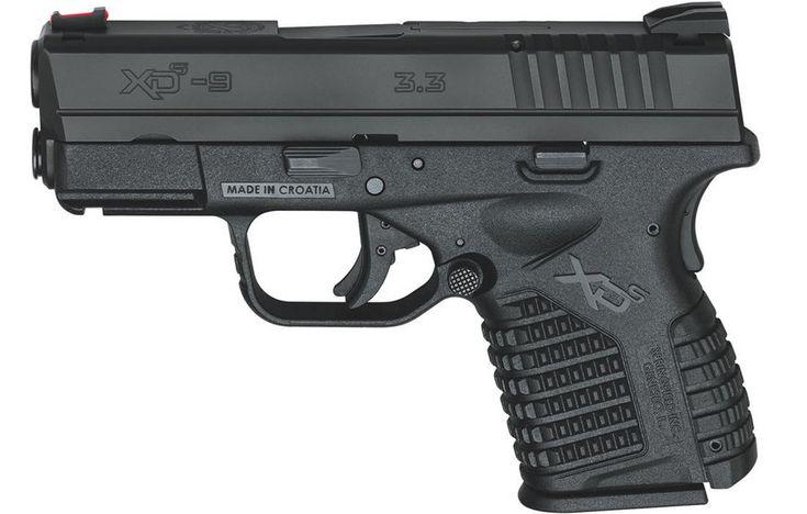 "Springfield XDS Single Stack Essential 9mm 3.3"" Barrel 8 Rnd Black - $379 (Free…"