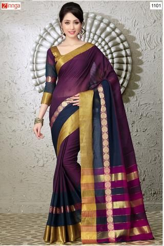 women's Beautiful Silk Cotton Sarees  #Sarees #Saris #Fashion #Looking #Popular #Offers #Design #Trending #Zinngafashion  #Designer #Offers