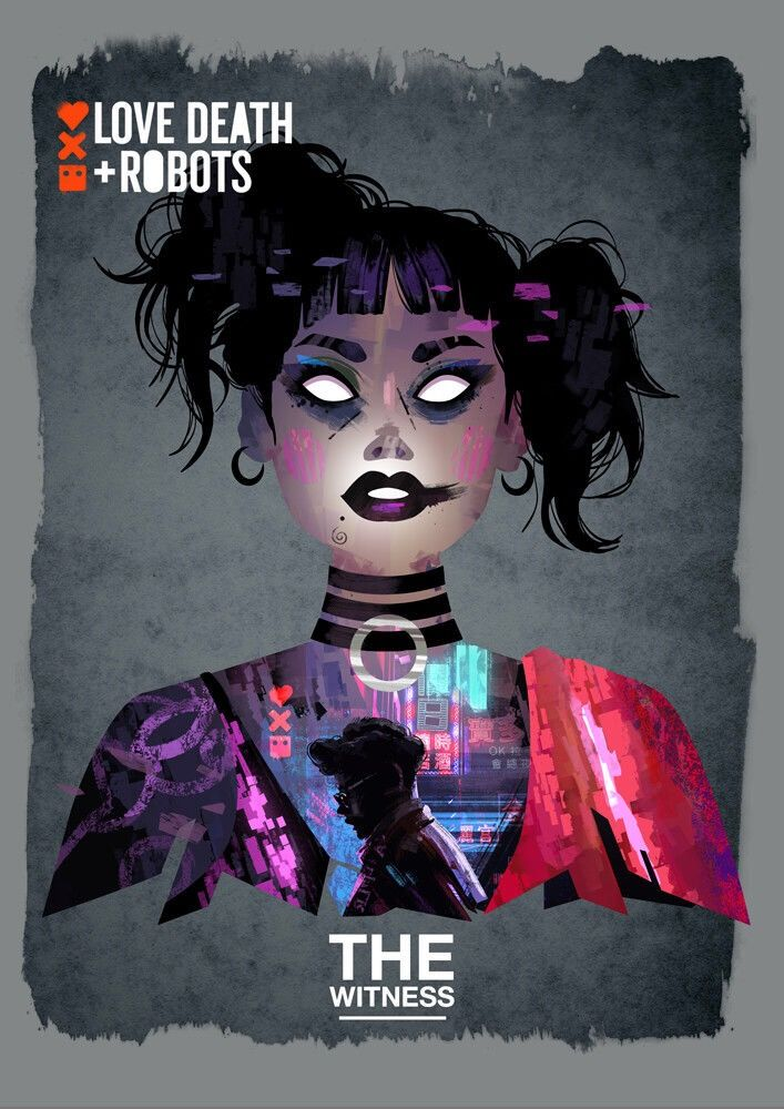 Love Death And Robots Illyustracii Roboty Smert