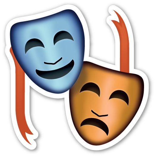 1386 best images about clipart for kids on pinterest Theatre Masks Clip Art drama masks clipart free