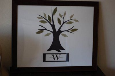 DIY Family Trees #christmas gifts: White Houses, Trees Patterns, Crafts Ideas, Houses Happen, Trees Tutorials, Families Trees, Families Reunions Gifts Ideas, Christmas Gifts, Diy Christmas