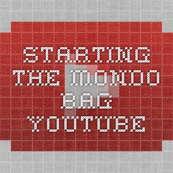 Starting The Mondo Bag YouTube SewingCrafts