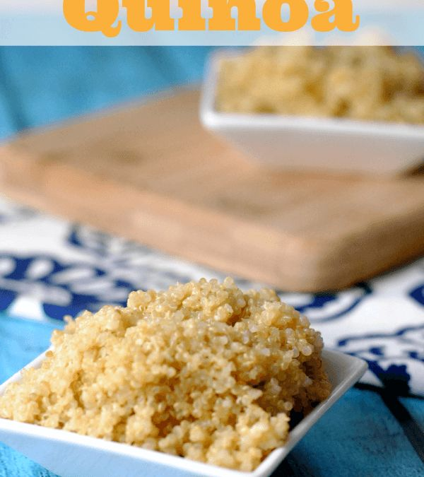 Roasted Garlic Parmesan Simple Quinoa Recipe