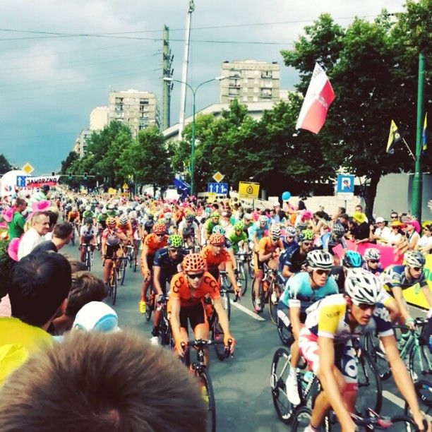 Found on #Starpin #katowice #cycling #TdP2013