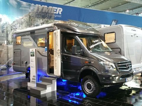 (1) Hymer MLT570 sixtieth anniversary special edition motorhome review - YouTube