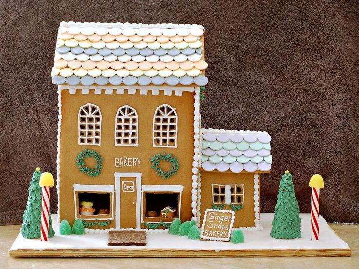 Many Years Ago, During My First Year At Culinary School, There Was A  Brochure In The Common Area For A Gingerbread House Competition At A  Destination ...
