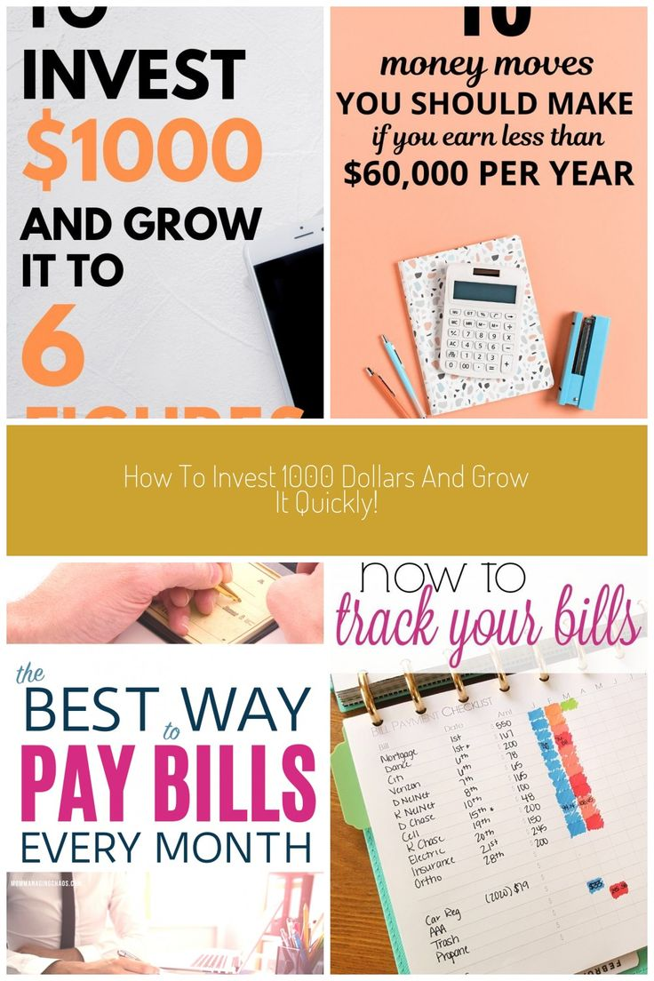 Are you looking to invest but only have 1000 dollars No