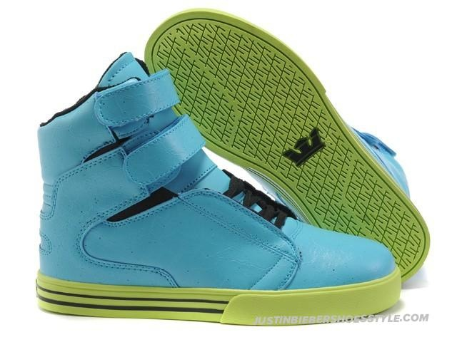 Supra TK Society Cyan LightGreen Womens High Tops╮(╯▽╰)╭O(∩_∩)O~~O(∩_∩)O~~